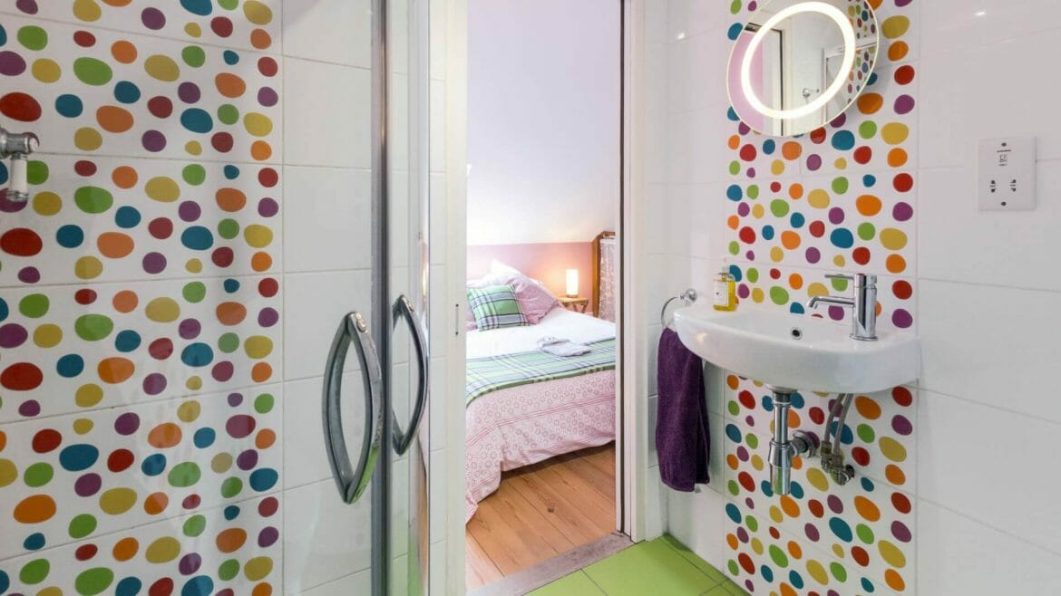 Hen Ffermdy holiday cottage - ensuite shower room