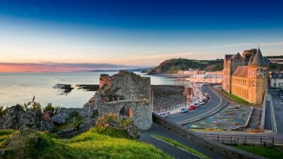 Aberystwyth Castle and Old College